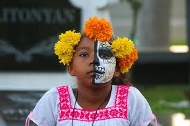 dia de los muertos, day of the dead. what is the day of the dead?, Day of the daed in the us