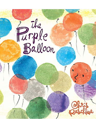 purple balloon, books for children about death, how to talk to children about death, explaining death too children, how to talk to kids about death