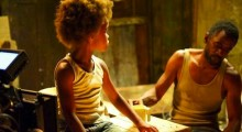 Quvenzhane Wallis, Dwight Henry, Hushpuppy, Wink, Beasts of the Southern Wild, Louisana