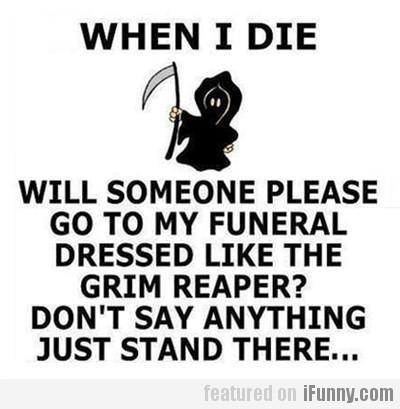 When I die... - SevenPonds BlogSevenPonds Blog