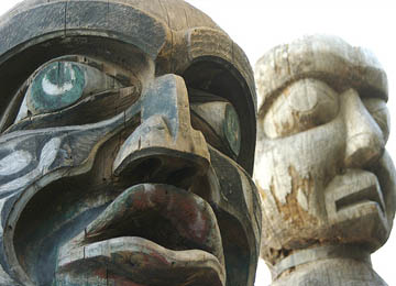 haida carvings