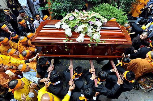 First Buddhist Death Rites
