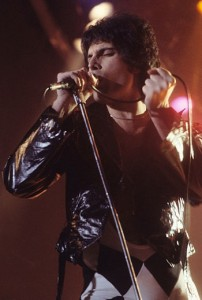 Freddie Mercury at New Haven, Connecticut in 1978