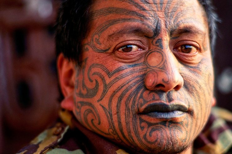 Ta Moko Tattoo: New Zealand: Death Tattoos & The Maori