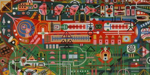Shawn Thornton, art, psychedelic art, vision, human brain