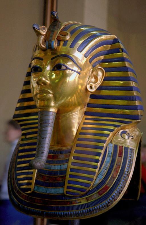 Tutanchamon's Golden Death Mask
