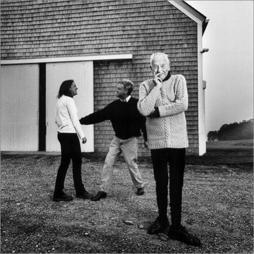 Andrew Wyethm Andrew Wyeth family, Andrew Wyeth house