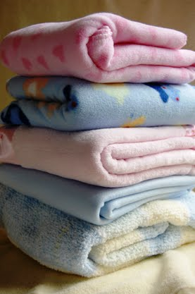 blankets of bereaved parents of stillborn children
