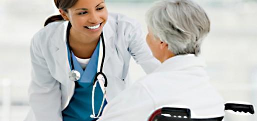 caregiver providing end of life care to terminally ill