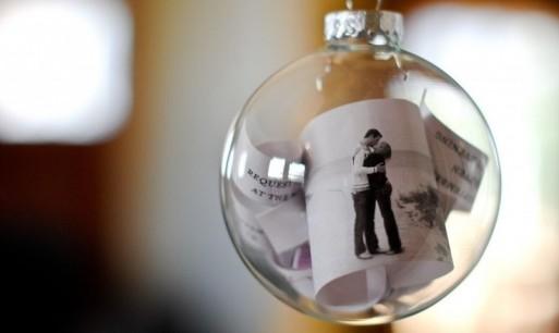 glass ornament, fill glass ornament