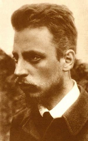 """Rainer Maria Rilke, """"Death"""" poet"""