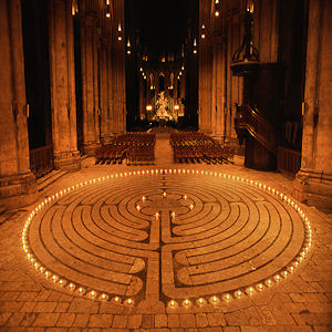 Labyrinth Grace Cathedral