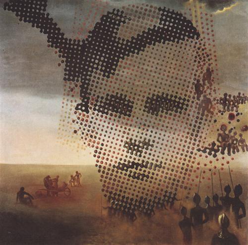 Portrait of My Dead Brother - Salvador Dali