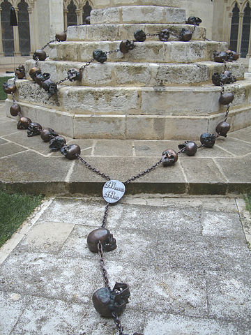 'Rosario' (2008), an installation by artist Javier Pérez.