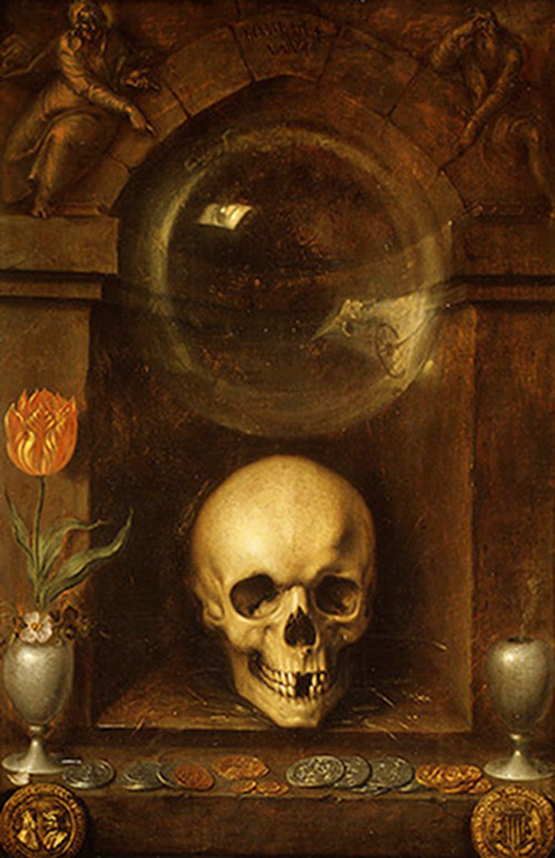 'Vanitas Still Life' by Jacques de Gheyn the Elder, 1603.