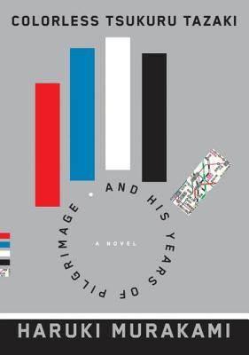 Book cover for Colorless Tsukuru Tazaki