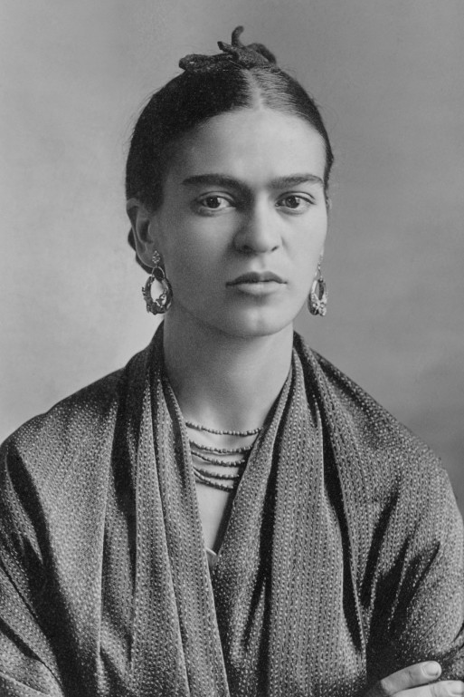 A portrait of Frida Kahlo taken by her father