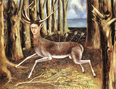 Kahlo's The Wounded Deer
