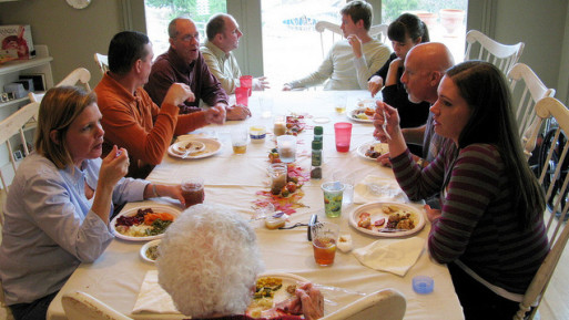 Talking about death and end of life over dinner with family