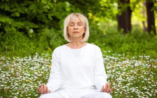 Processing grief through meditation