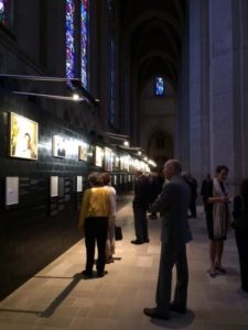 Grace Cathedral exhibition on deathbeds