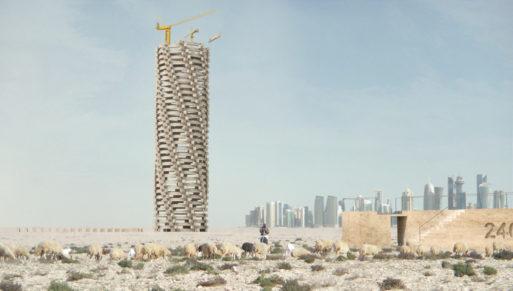 Qatar World Cup Memorial concept art