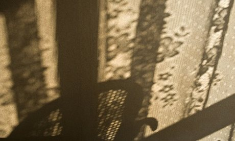 A photo of the shadow of a chair that Beatriz Ruibal took in response to the loss of her mother