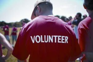 Volunteering has health benefits