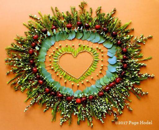 DYI Heart Displaying Love