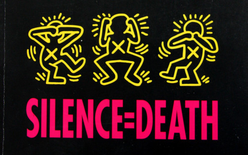 Haring criticized those who remained closeted