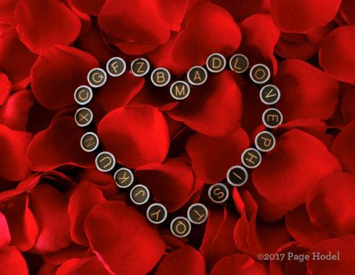 Valentines Day handmade heart