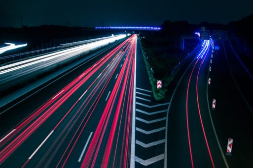 Picture of a busy highway