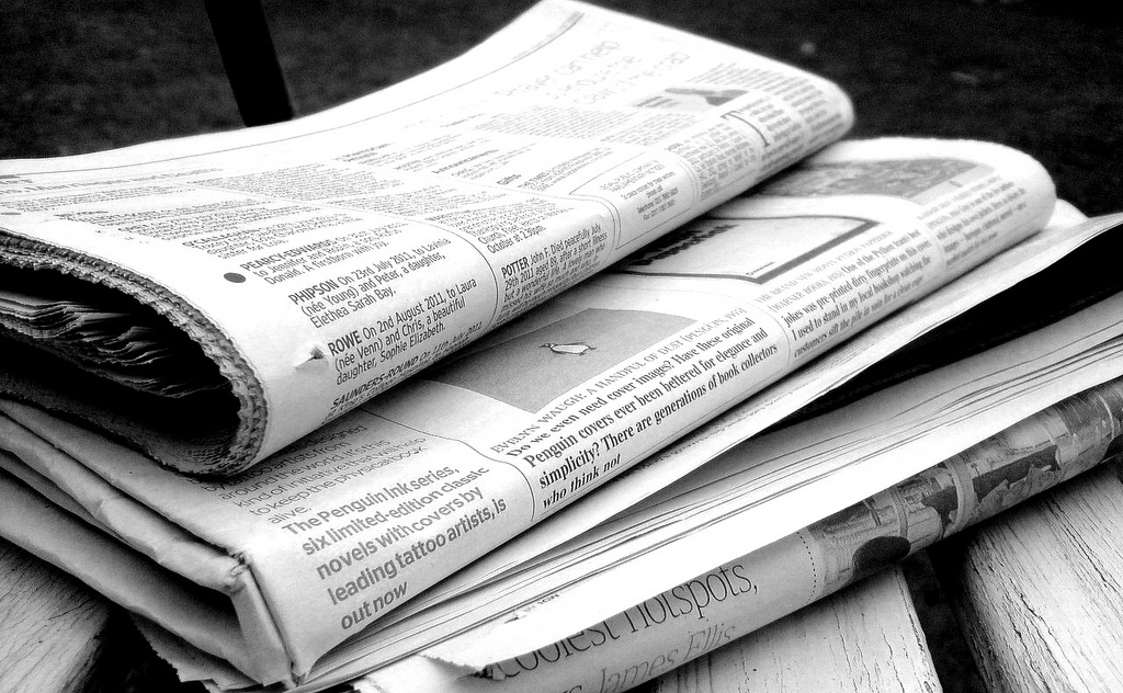 Study Finds Sticker Shock With Newspaper Obituary Prices