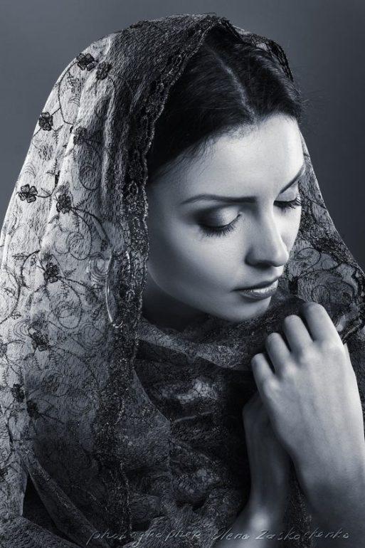 sad, beautiful woman
