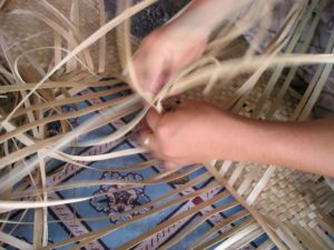 hands weaving putting life together after suicide