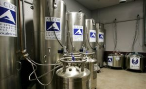 Cryopreservation tanks blur line between life and death