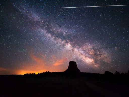 haley's comet meteor shower
