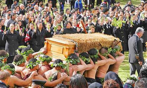 Maori Funeral