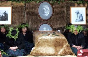 Maori Burial