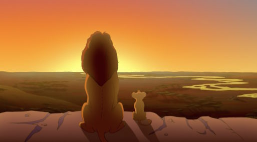 Mufasa and Simba from The Lion King