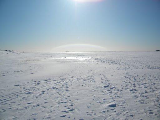 Sea Ice Gulf in Finland