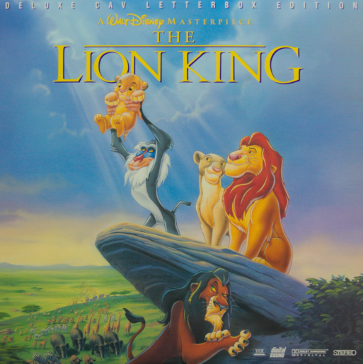 The Lion King cover art