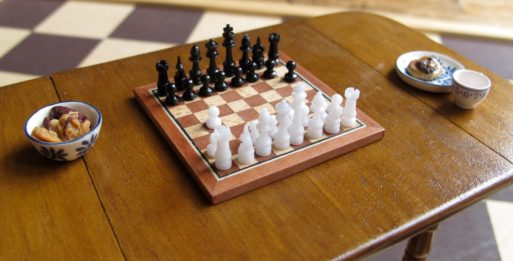 laying chess the game of life