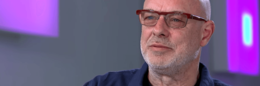 Image of Brian Eno at his The Quiet Room