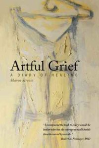 "Book Cover for ""Artful Grief: A Diary of Healing"""