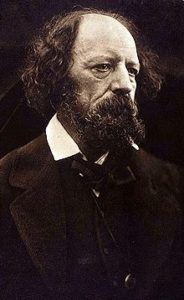 "Alfred, Lord Tennyson, author of ""The Charge of the Light Brigade"""