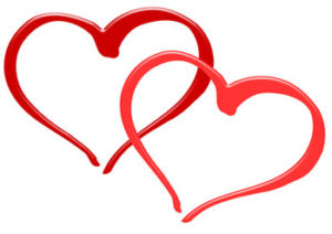 """Two hearts joined together symbolize """"My Heart Will Go On"""""""