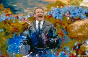 Scene from What Dreams May Come with Robin Williams