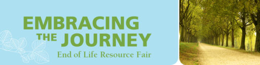 Banner for the End of Life Resource Fair