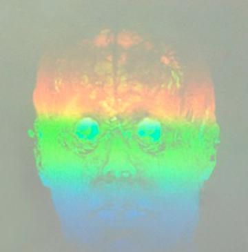 """""""When H2 Leaves O"""" artistic hologram by Folkert de Jong"""